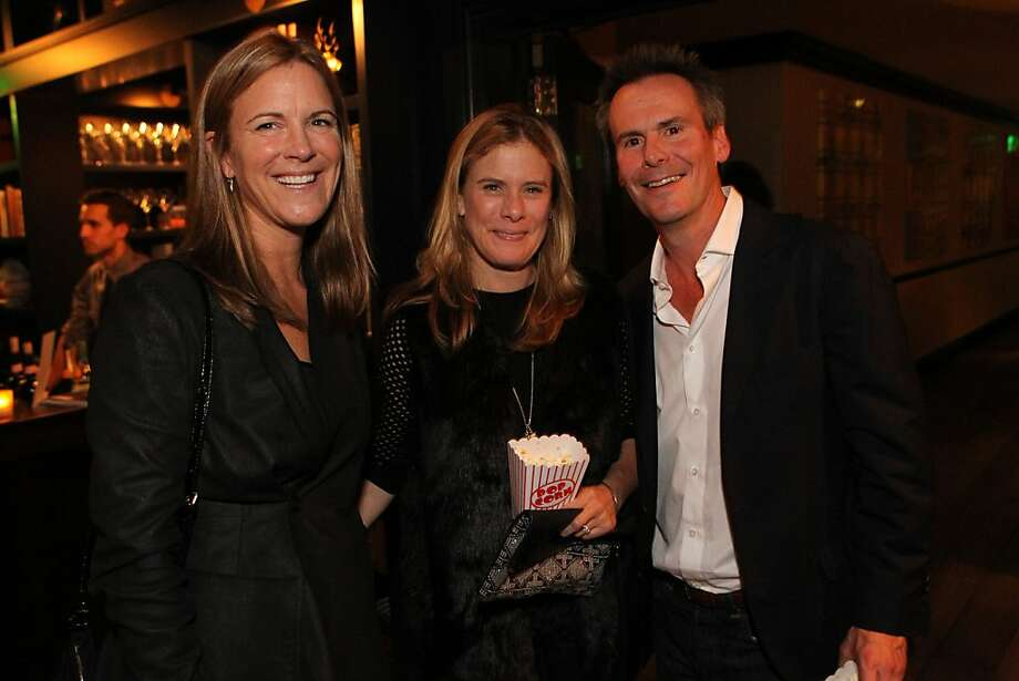 Lisa Dolby-Chadwick, left, A. K. L'Heureux, center, and Matt L'Heureux attend the San Francisco Film Society's Inaugural Fall Celebration in San Francisco on Thursday, Nov. 14, 2013. Photo: Mathew Sumner, Special To The Chronicle