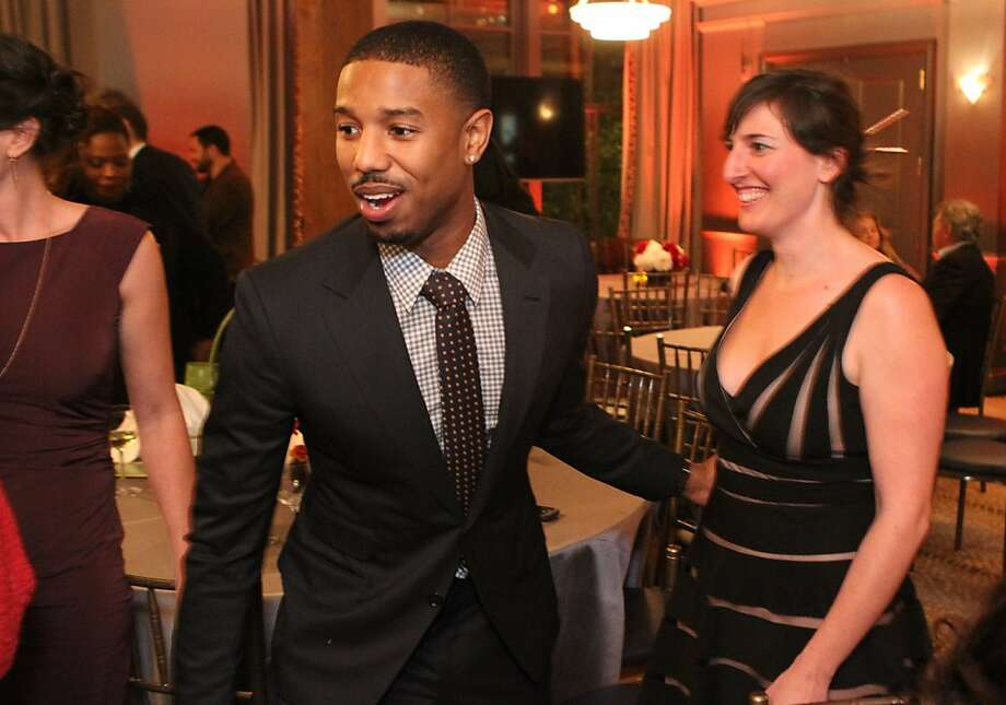 Fruitvale Station actor Michael B. Jordan mingles at the San Francisco Film Society's Inaugural Fall Celebration in San Francisco on Thursday, Nov. 14, 2013. Photo: Mathew Sumner, Special To The Chronicle