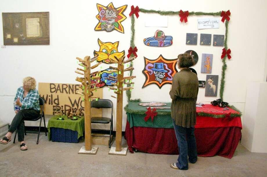 Holiday Shop-o-Rama at The Art Studio. Photo: Andy Coughlan