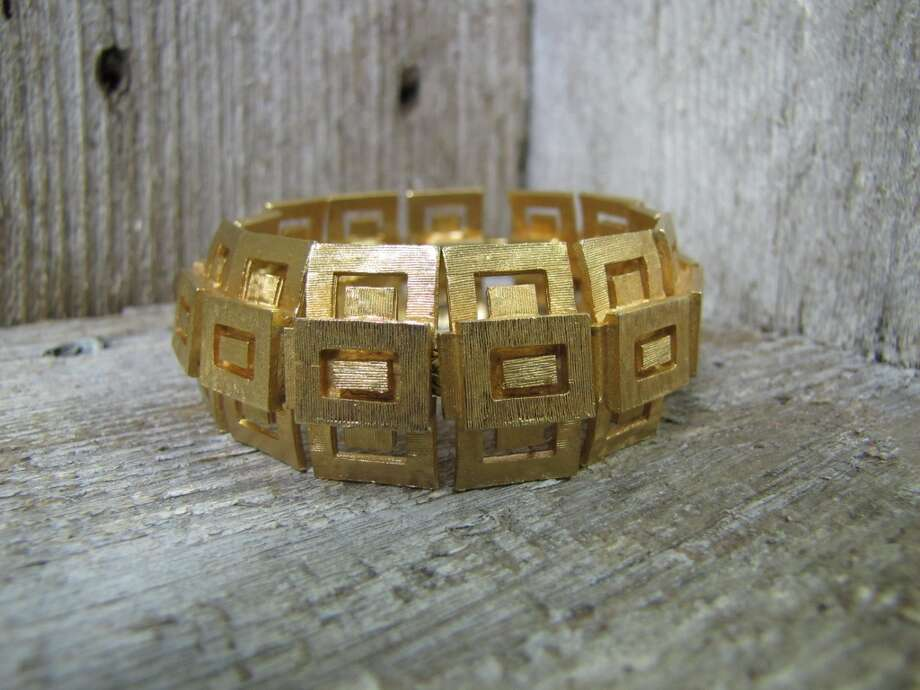Vintage gold-tone bracelet, $15, Antiques and More, Vidor Photo: Cat5