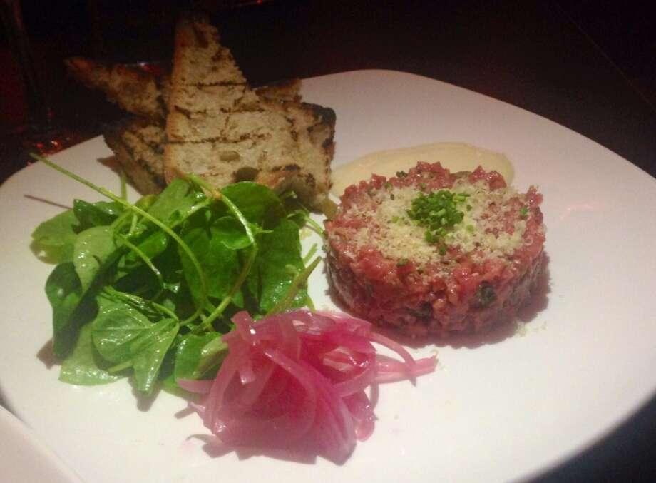 Steak tartare at Palmer's Tavern