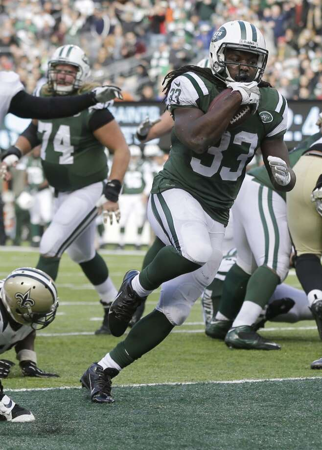 NY Jets (5-4) plus-1 1/2 at Buffalo (3-7): Jets 20-17 Photo: Mel Evans, Associated Press