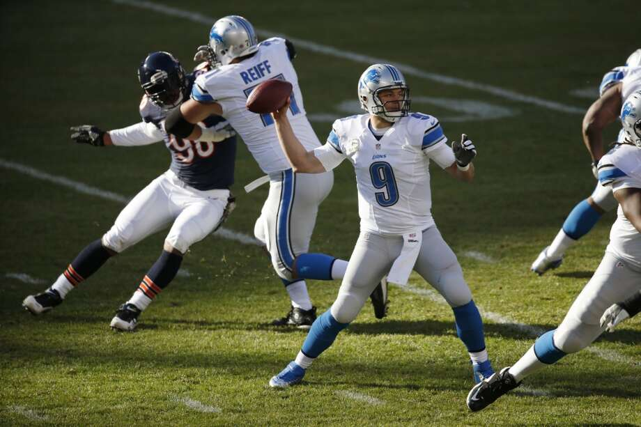 Detroit (6-3) minus-2 ½ at Pittsburgh (3-6): Lions 27-20 Photo: Charles Rex Arbogast, Associated Press