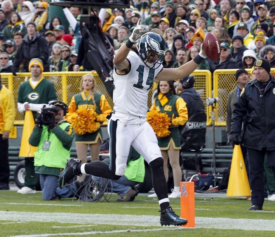 Washington (3-6) plus-4 ½ at Philadelphia (5-5): Eagles 27-24 Photo: Mike Roemer, Associated Press