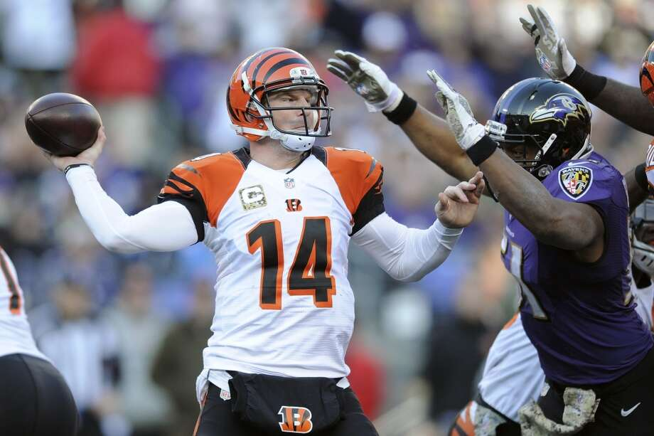 Cleveland (4-5) plus-6 at Cincinnati (6-4): Bengals 29-17 Photo: Nick Wass, Associated Press