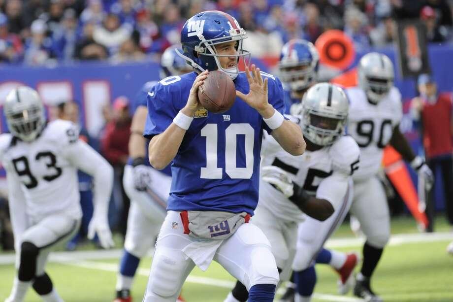 Green Bay (5-4) plus-4 ½ at NY Giants (3-6): Giants 23-20 Photo: Bill Kostroun, Associated Press