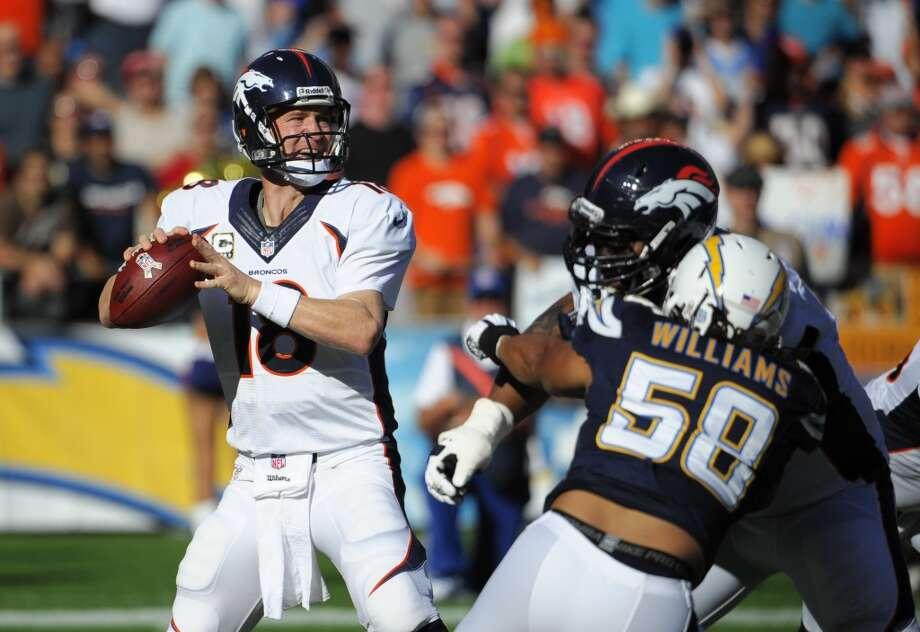 Kansas City (9-0) plus-8 1/2 at Denver (8-1): Broncos 27-20 Photo: DENIS POROY, Associated Press