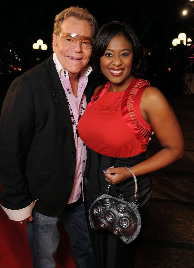 Bubby McNeely and Sharron Melton on the red carpet at Fashion Houston at the Wortham Theater Thursday Nov.14. Photo: Dave Rossman, For The Houston Chronicle