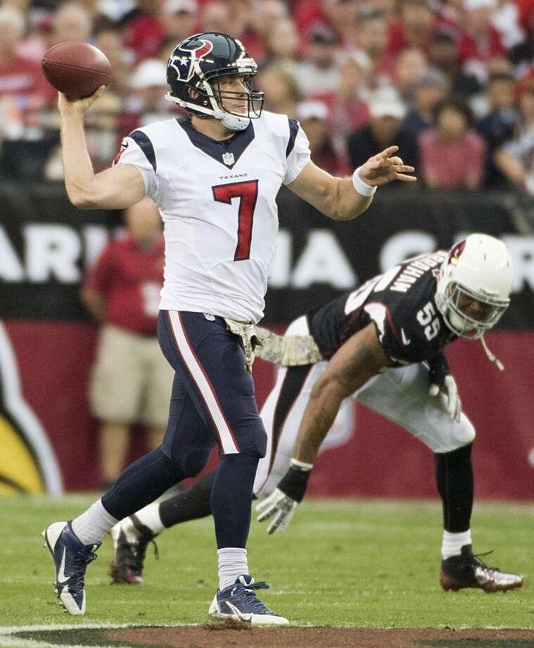 Oakland (3-6) plus-7 at Houston (2-7): Texans 23-19 Photo: Smiley N. Pool, Houston Chronicle