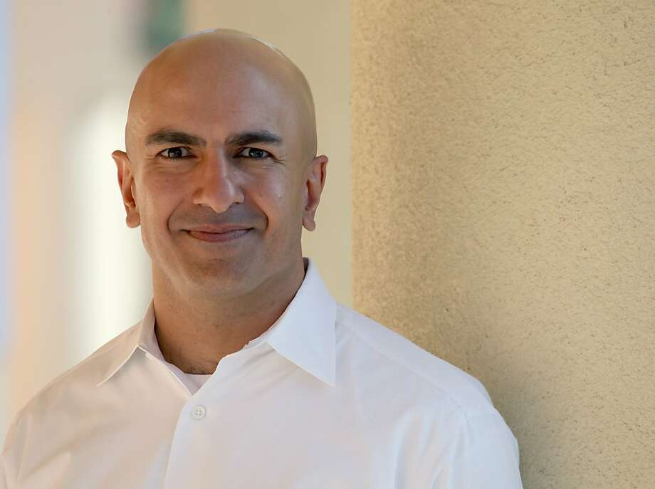 Republican Neel Kashkari, 39, photographed in East Palo Alto, California on Friday, November 8, 2013.  The 39-year-old former Bay Area Goldman Sachs banker oversaw the Troubled Asset Relief Program in two presidential administrations. Photo: Liz Hafalia, The Chronicle