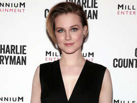"Actress Evan Rachel Wood attends a screening of ""Charlie Countryman"" on Wednesday, Nov. 13, 2013 in New York."