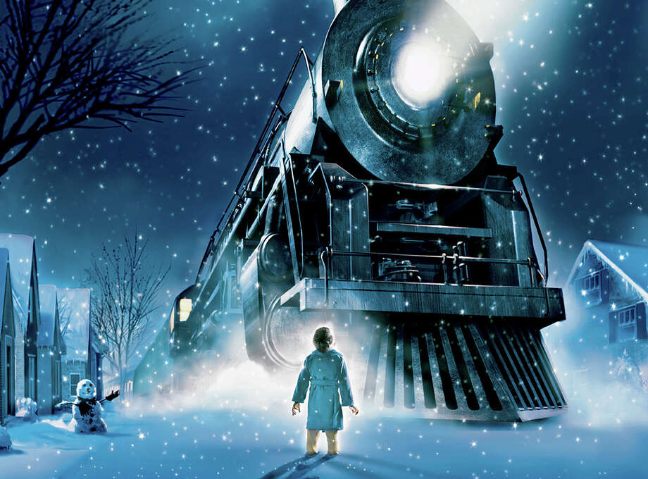 Children take a magical train ride to the North Pole in âÄúThe Polar Express,âÄù an animated adaptation of the Caldecott Award-winning book that's returning now to the IMAX screen of The Maritime Aquarium at Norwalk. Photo: Contributed Photo/Warner Bros. P, Contributed Photo / The News-Times Contributed