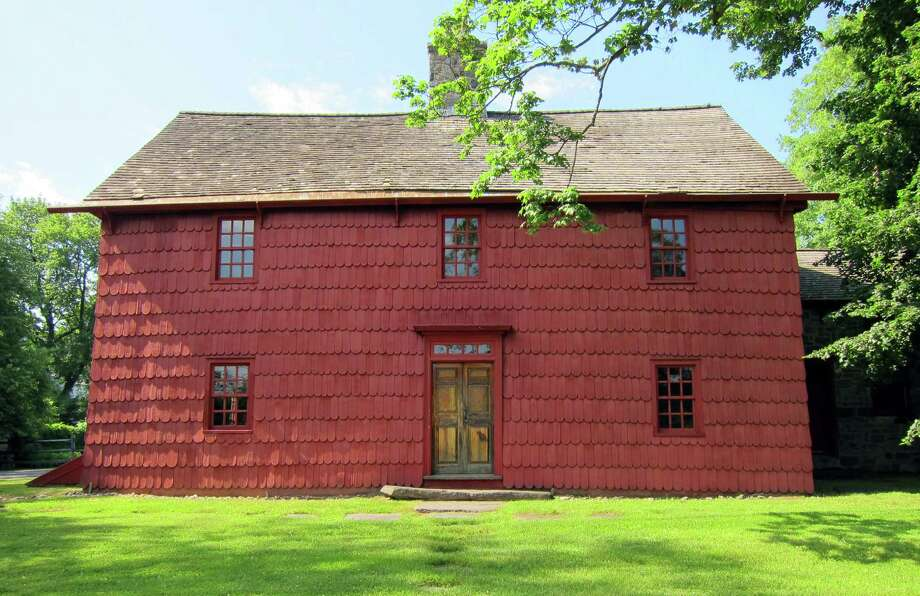 Putnam Cottage, according to Bretschger, was originally a one-room building, built circa 1690, with the last renovation, a stone kitchen, added in 1825. Photo: Contributed Photo / Greenwich Citizen