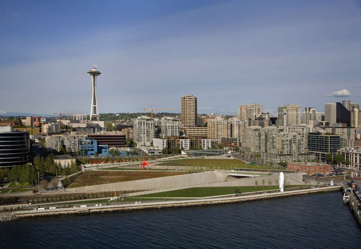 This is how the new sculpture will likely look at the Olympic Sculpture Park.