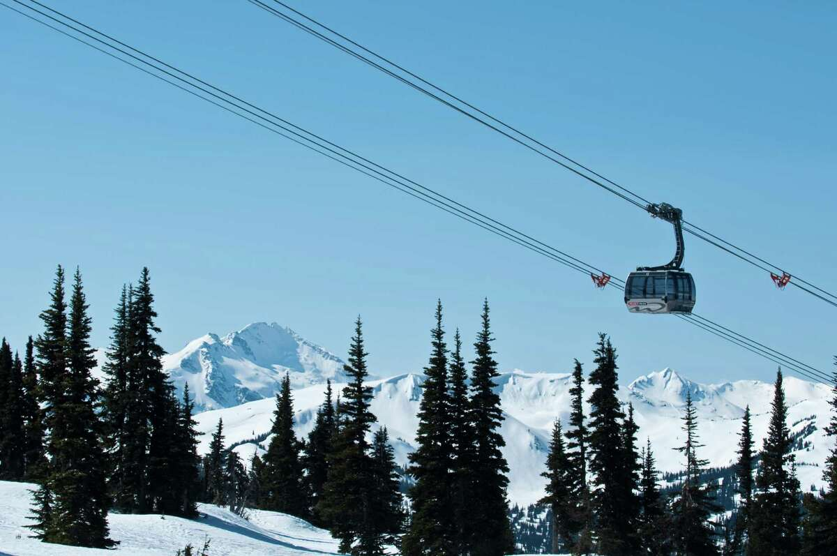 Whistler, British Columbia: Home to some of the best ski slopes in North America.