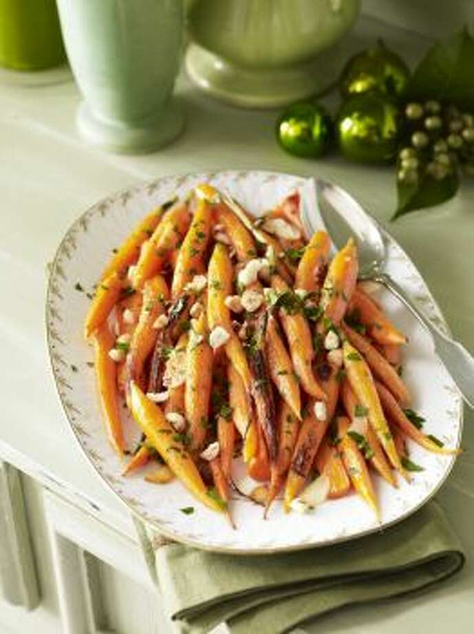 Caramelized CarrotsSimple spices, and hazelnuts, add great flavor in this carrot dish.Read the recipe Photo: Good Housekeeping