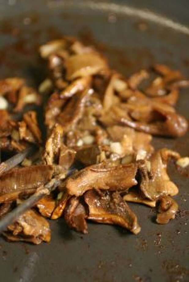 Roasted Wild Mushrooms With Garlic and ShallotsRoasted mushrooms are a great side dish for any meal.Read the recipe Photo: SEATTLE TIMES