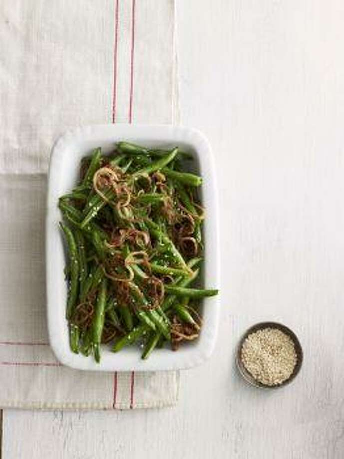 Sesame-Ginger Green Beans