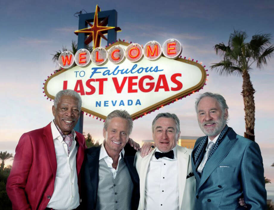 "The new movie, ""Last Vegas,"" is playing in area theaters. Photo: Contributed Photo / Westport News contributed"