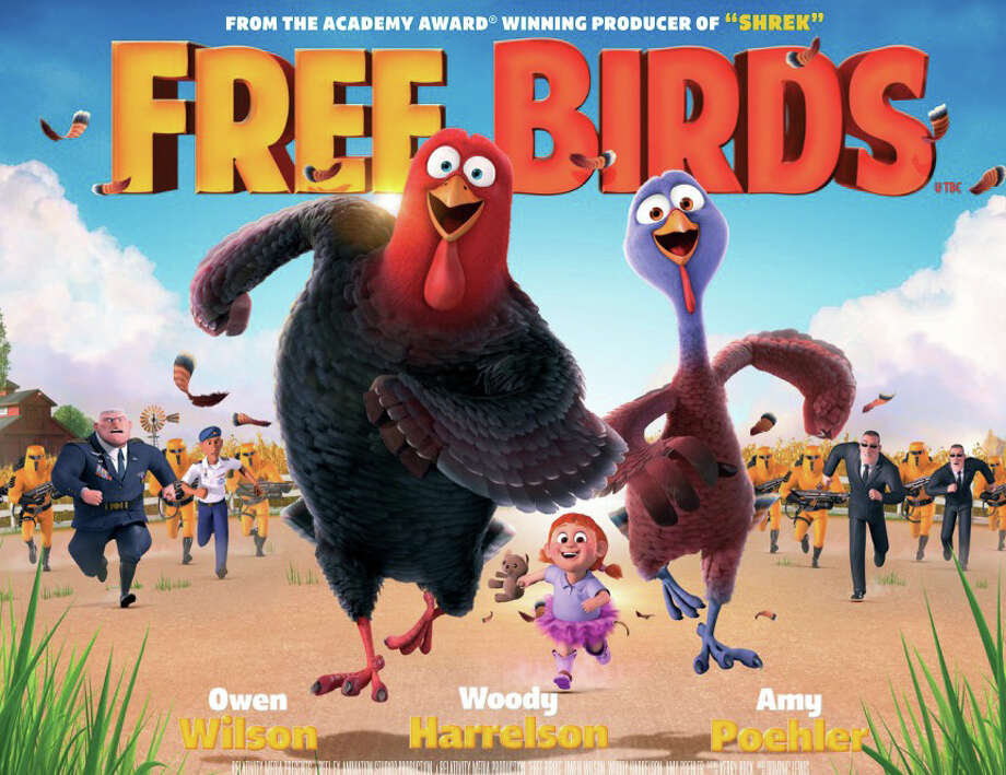 "Take the kids to see ""Free Birds"" outside on Saturday as part of outdoor movies at Calf Pasture Beach in Norwalk. Find out more.  Photo: Contributed Photo / Westport News contributed"