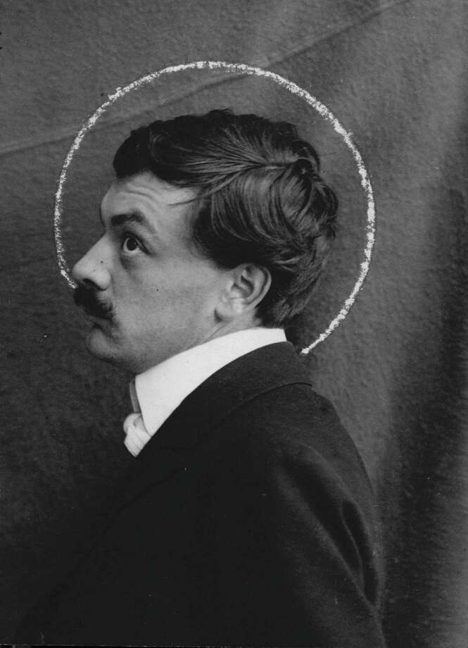"""From """"Koloman Moser: Designing Modern Vienna, 1897-1907"""" at the Museum of Fine Arts, Houston through Jan. 12.  Unknown, Photograph of Koloman Moser, c. 1903, MAK–Austrian Museum for Applied Arts/ Contemporary Art, Vienna. Photo MAK Photo: MAK, Fotograf / Photographer MAK / ONLINE_YES"""