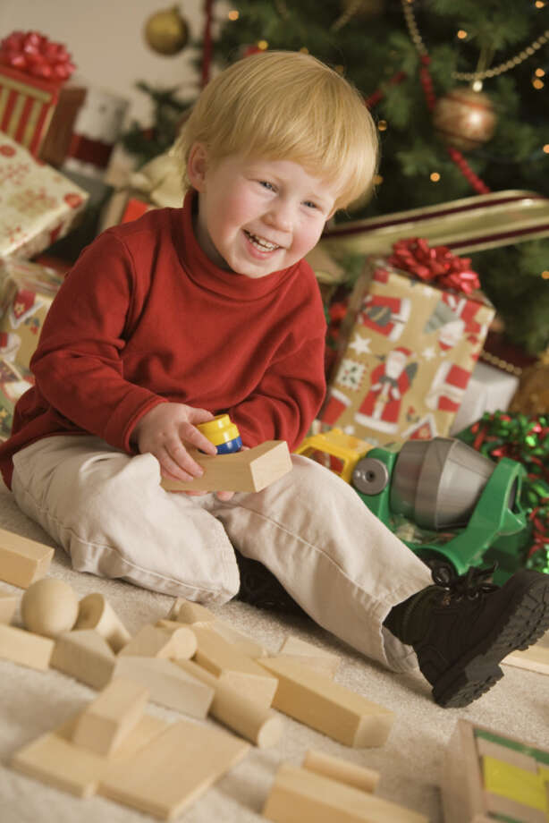 "Blocks: Blocks are like a placeholder for an actual toy. Parents might as well just write ""I.O.U."" on each piece. Photo: Comstock Images, Getty Images/Comstock Images / Comstock Images"