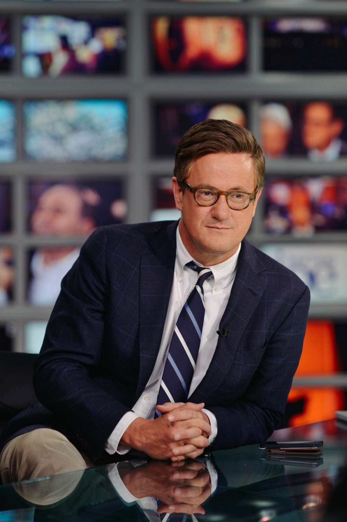 Joe Scarborough, former Republican congressma and host of MSNBC's Morning Joe will visit New Canaan Library in New Canaan, Conn., on Friday, Nov. 15, 2013 to speak about his latest book The Right Path: From Ike to Reagan, How Republicans Once Mastered Politics-And Can Again. The event will be begin at 6:30 p.m. in the Library's Adrian Lamb Room. Seating is limited, and registration is required. Photo by Nathan Congleton