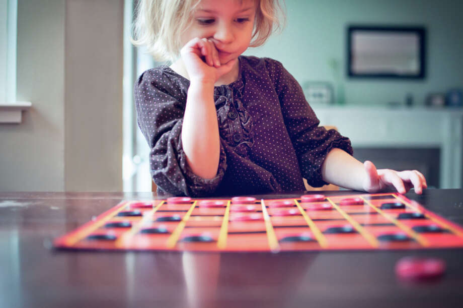 Checkers:A great game for children who are slightly too smart to stare blankly at a wall. Photo: Teresa Short, Getty Images/Flickr RF / Flickr RF