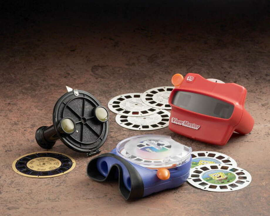 View-Master: We have widescreen, 3D televisions. Hazy holograms of the Grand Canyon don't cut it anymore. Photo: Getty Images / 2004 Getty Images