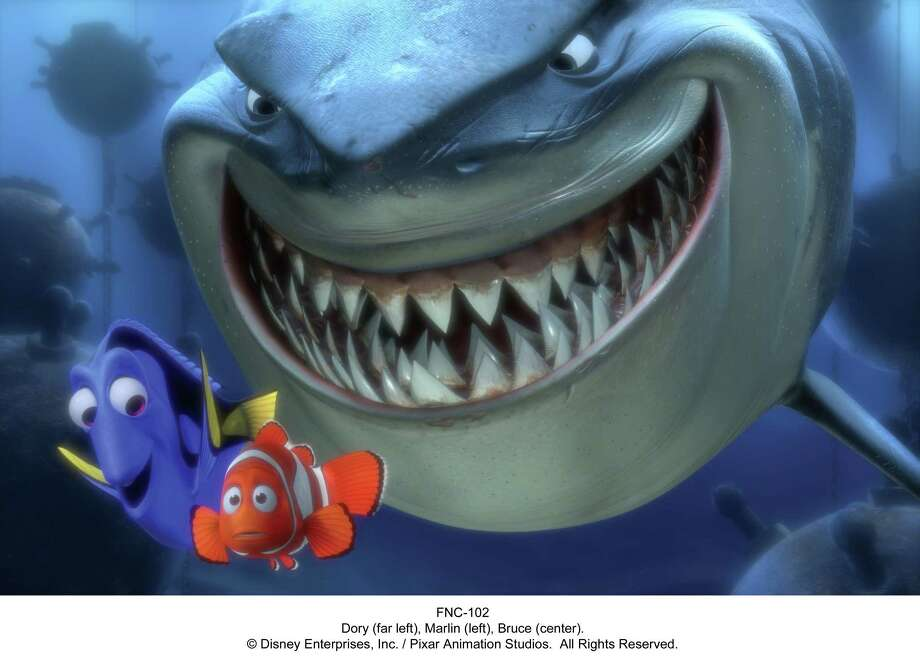 "Finding Nemo (2003)""Fish are friends not food."" Photo: Disney/Pixar"