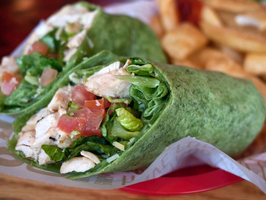 TipWraps aren't much different from sandwiches. You're just trading the bread for a 300-calorie white-flour tortilla. Photo: Photography By Paula Thomas, Getty Images/Flickr RF