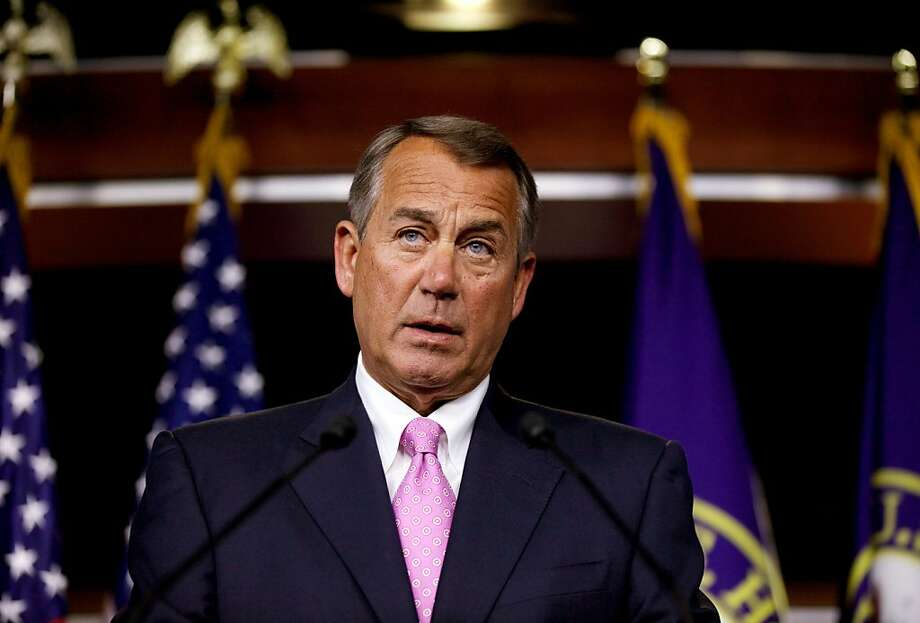 House Speaker John Boehner's decision to kill immigration reform is likely to cost his party the Latino vote for at least a generation and will have an even worse impact on America's economy. Photo: Molly Riley, Associated Press