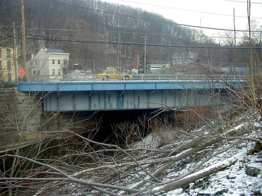 Spring Avenue Bridge over the Poestenkill in Troy. (Photo from troyny.gov)