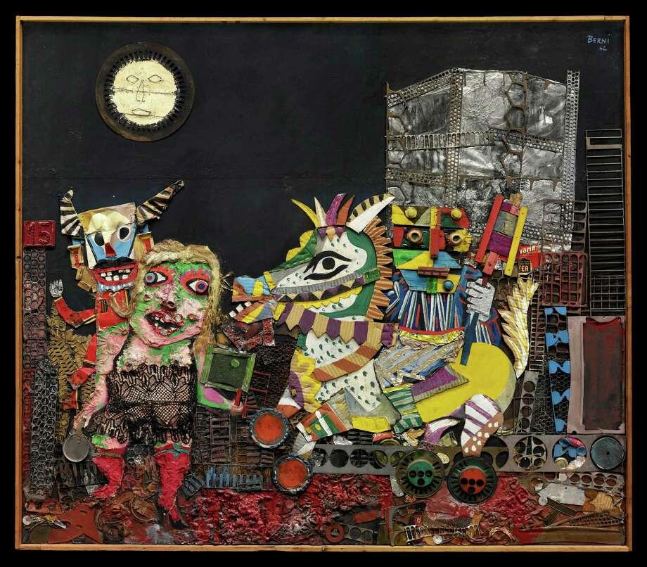 "Houston collectors Gail and Louis K. Adler discovered Antonio Berni's ""Carnaval de Juanito (Juanito's Carnival)"" at an art fair in Rio de Janeiro. Photo: JosŽ Antonio Berni"