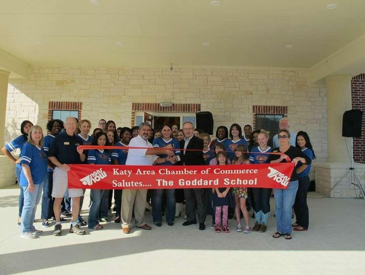 The Goddard School of Katy held a ribbon cutting Oct. 26.
