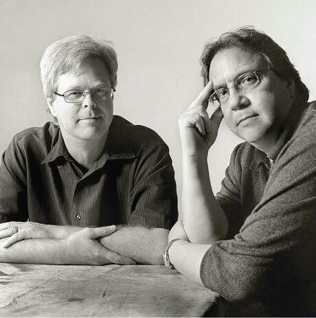 Authors Bill Minutaglio and Steve Davis, authors of Dallas 1963 Photo: Xx