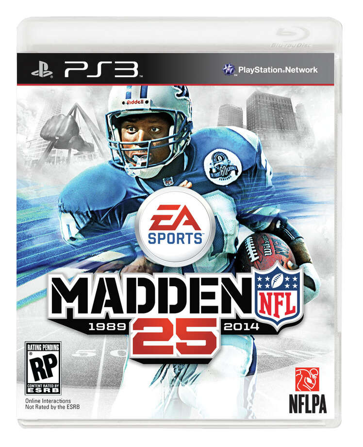 The cover for EA Sports' 'Madden 25' for Playstation 3.