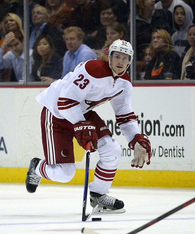 At age 22, Phoenix's Oliver Ekman-Larsson - with 16 points and three game-winning goals - is an elite NHL defensemen. Photo: Mark J. Terrill, Associated Press