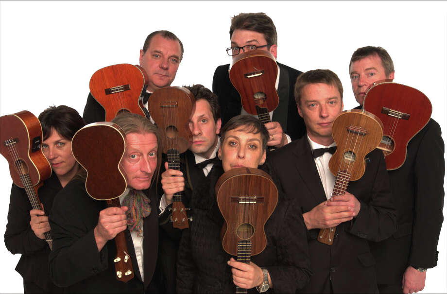 Society for the Performing Arts will present the Ukelele Orchestra of Great Britain Wednesday, Nov. 20, 2013 at 8 p.m. Photo: Society For The Performing Arts / ONLINE_YES