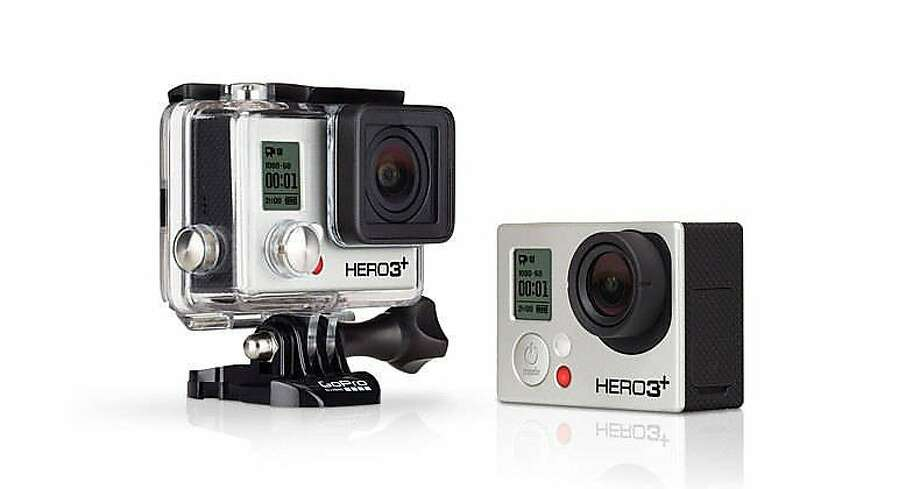 Capture downhill skiing or kids in the pool with the 2.6-ounce GoPro camera. The protective casing will capture footage where no iPhone can, and the free app lets you manage files from your phone. The Hero3 Black Edition offers 12-megapixel stills, photo-bursts up to 30 frames per second, time-lapse and astounding wide-angle shots. Built-in Wi-Fi and Wi-Fi remote come in handy when mounted on a helmet or tripod. Vitals: GoPro Hero3 Black Edition, $400 at most sporting goods stores or at  www.gopro.com. - Bill Fink