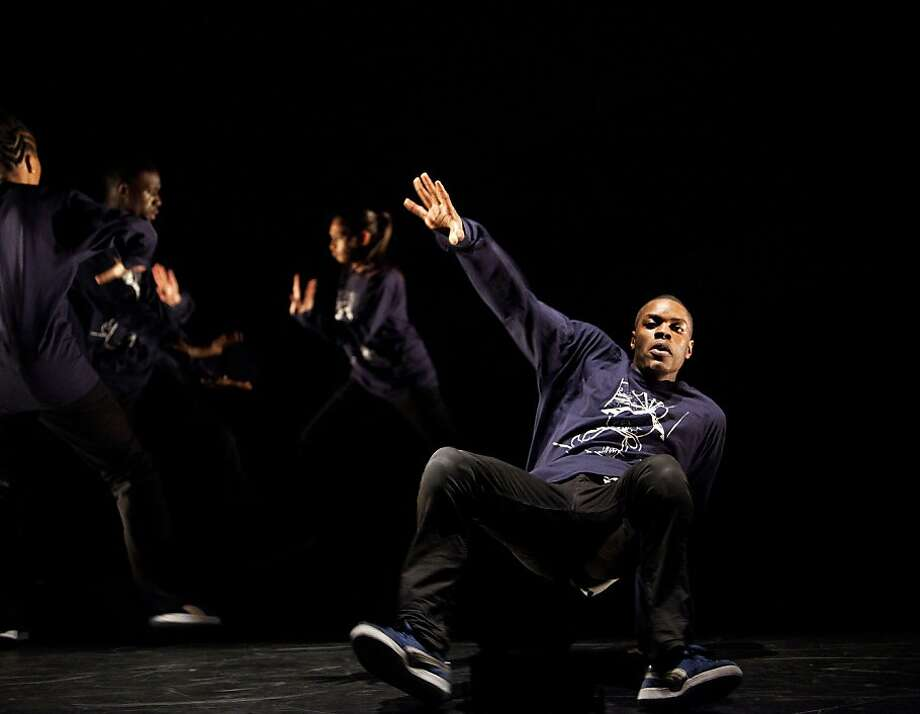 "Dani Harris-Walters dances in Far From the Norm's piece ""All Around Me."" Photo: Rachel Cherry., Hip Hop Dance Festival"