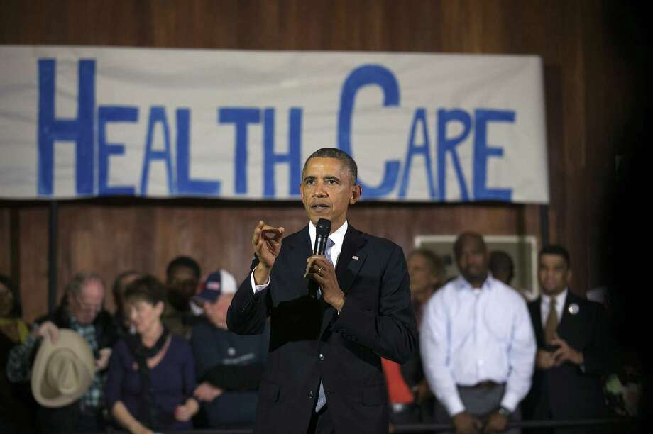 President Barack Obama  speaks to Obamacare  specialists. A reader says Obama's re-election was an endorsement of the ACA because voters knew he would imple-ment it. Photo: Doug Mills / New York Times