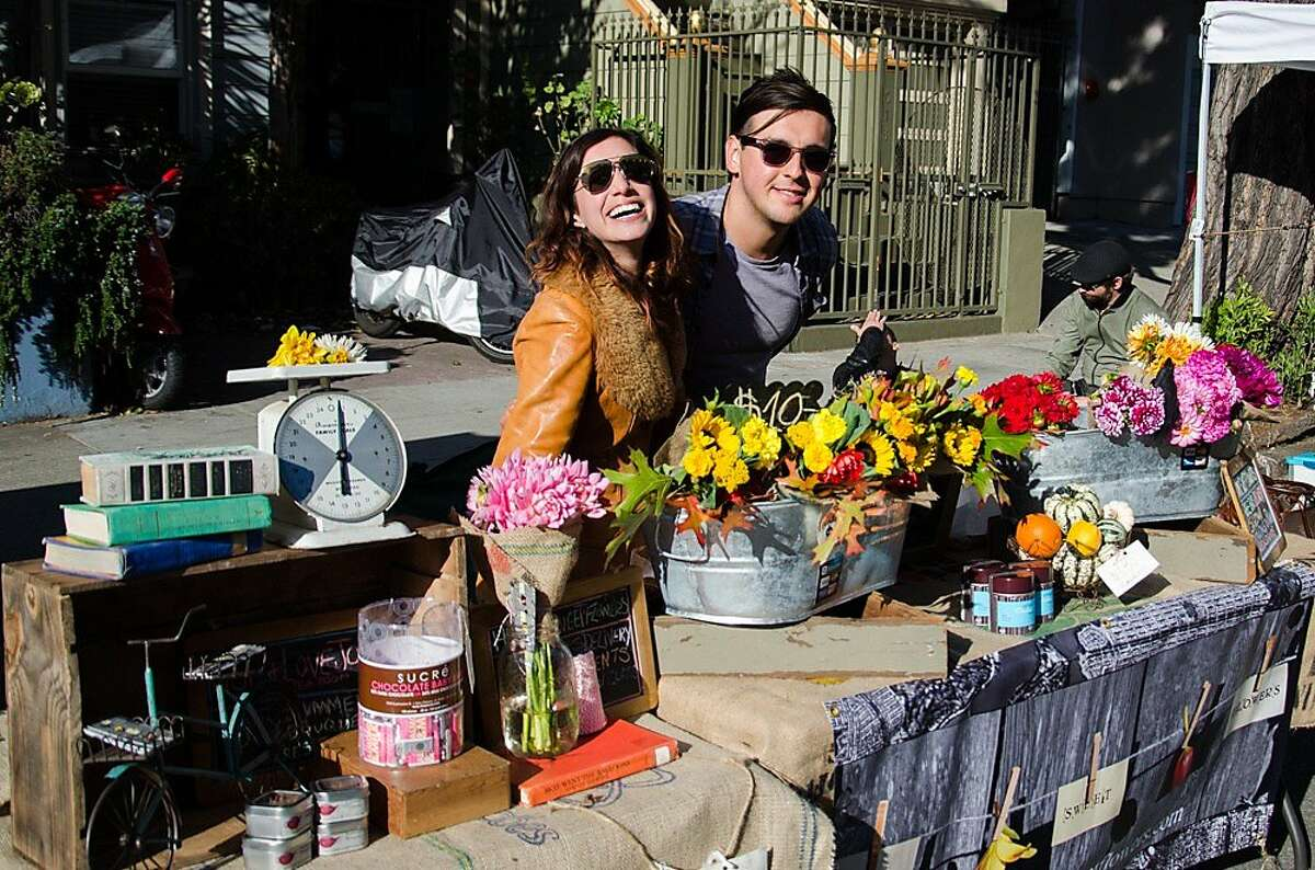Urban Air Market surfaced in the Lower Haight neighborhood Oct. 12 and featured more than 100 vendors.