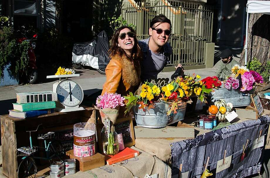 Urban Air Market surfaced in the Lower Haight neighborhood Oct. 12 and featured more than 100 vendors. Photo: Courtesy Urban Air Market