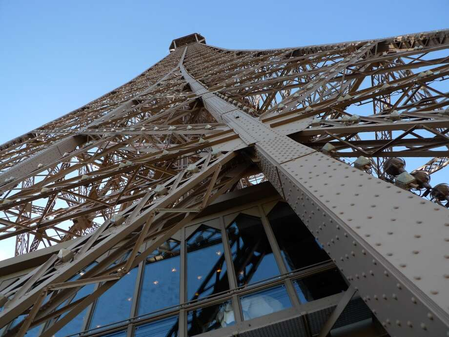 Maupassant ate lunch frequently at the restaurant at the base of the Eiffel Tower after it was complete. He said it was the only site in Paris where he couldn't see the structure. Photo: Spud Hilton, Bad Latitude
