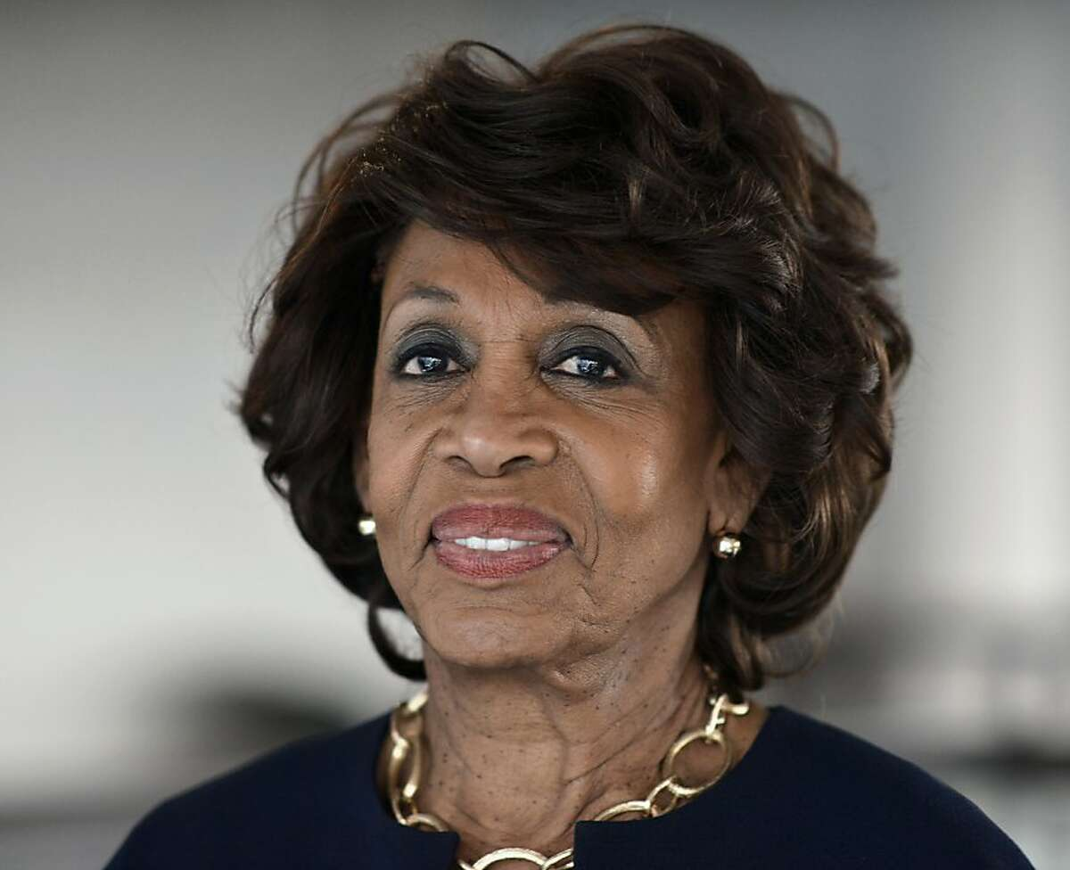 Maxine Waters seen at the Justice on Trial Film Festival, on Oct. 20, 2013 in Los Angeles. (Photo by Richard Shotwell/Invision/AP)