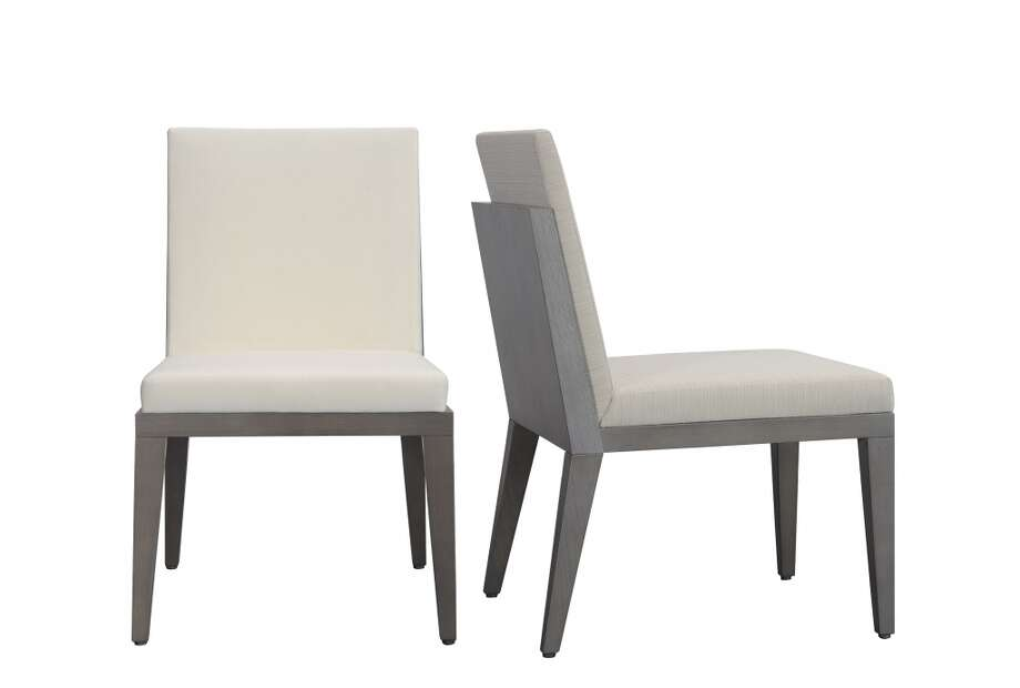 Cubist dining chairs