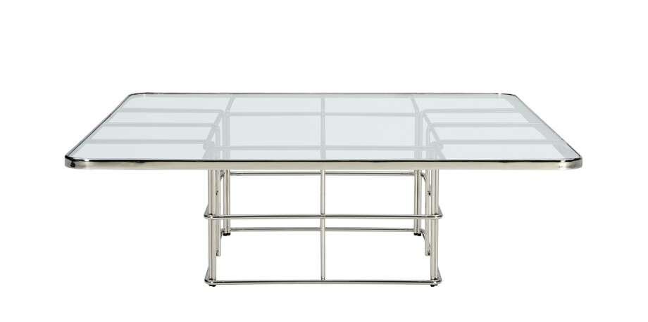 Montauk Gray Bent Metal Table