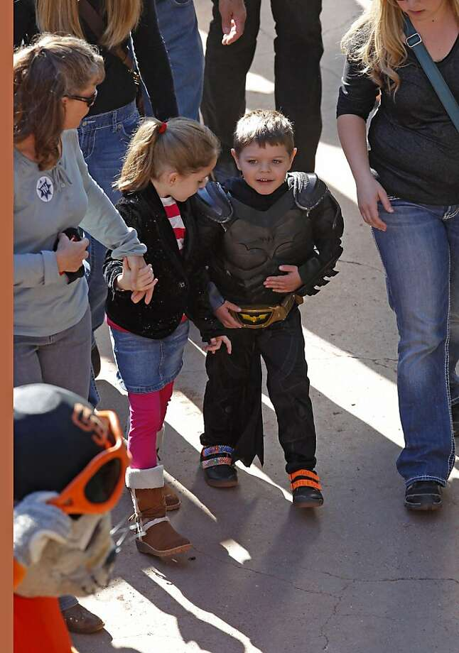 """Regardless, young Miles has already given us a few less tangible things to appreciate, such as providing those with """"first world problems"""" a little perspective.  """"Ok, enough of my ridiculous non-problems. Make-a-Wish is turning San Fran into Gotham City for sick wee boy #batkid""""  — Anna Connell (@AnnaGConnell) November 7, 2013"""