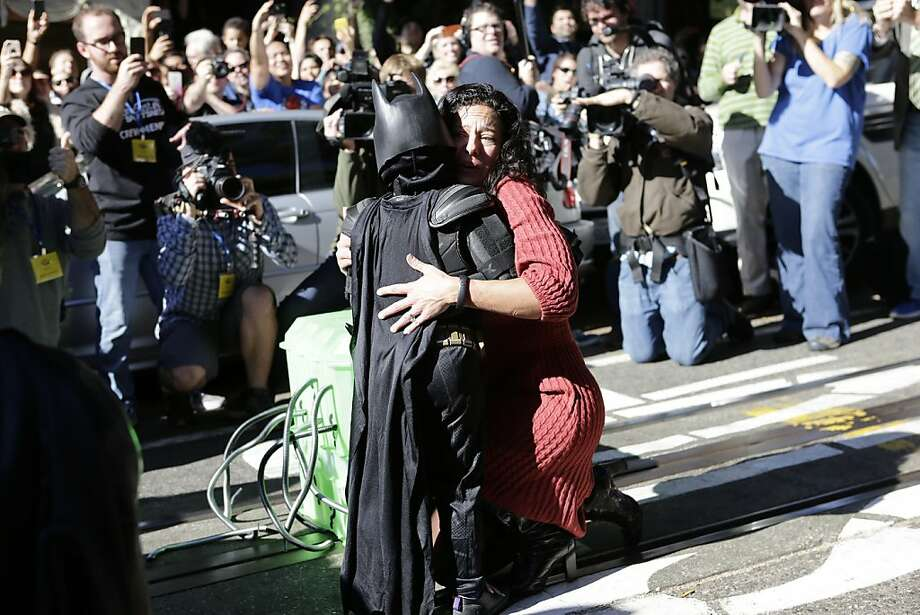 "Or simply restoring our faith in humanity.  ""this #batkid stuff really is the only thing in recent memory to give me faith in humanity""  — ಠ_ಠ (@MikeIsaac) November 15, 2013"